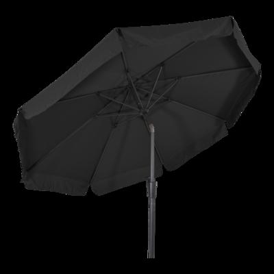 Parasol Libra zwart Ø3mtr
