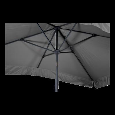 Parasol Libra grijs 2x3mtr