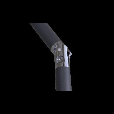 Parasol Libra taupe 2x3mtr