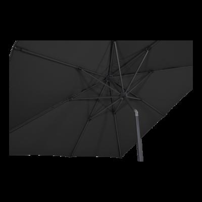 Parasol Libra zwart 2,5x2,5mtr