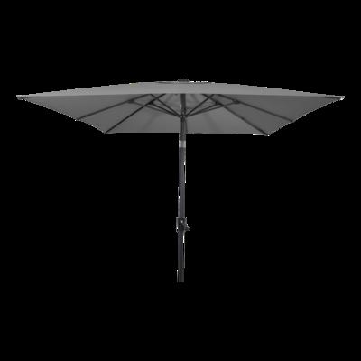 Parasol Libra grijs 2,5x2,5mtr