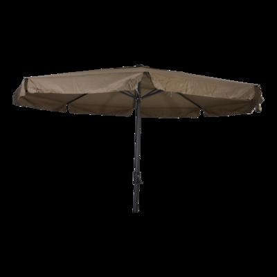Parasol Libra taupe Ø3,5mtr