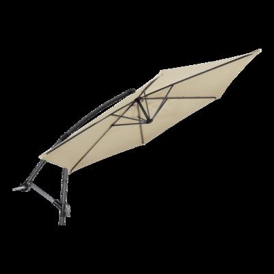 Zweefparasol Gemini ecru Ø3mtr