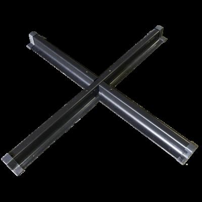 Parasolvoet kruis mat voor zweefparsols Virgo, Virgoflex en Scorpio
