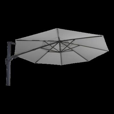 Zweefparasol VirgoFlex grijs Ø3,5mtr