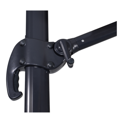 Zweefparasol Scorpio ecru 3x3mtr