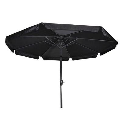 Parasol Libra zwart 3mtr
