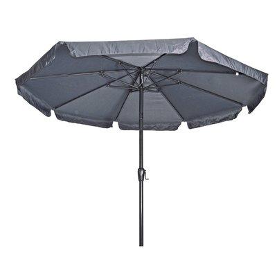 Parasol Libra grijs 3mtr