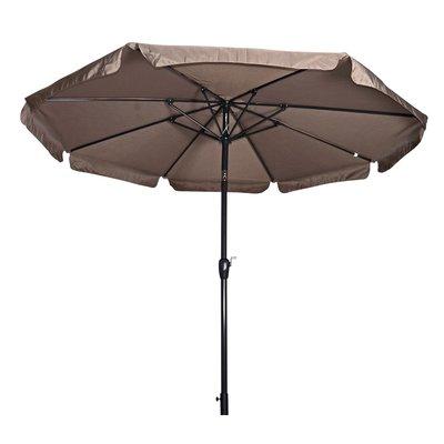 Parasol Libra taupe 3mtr