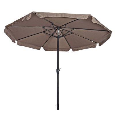 Parasol Libra taupe 3,5mtr