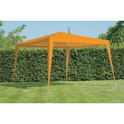 Paviljoen Budget PE oranje 3x3mtr