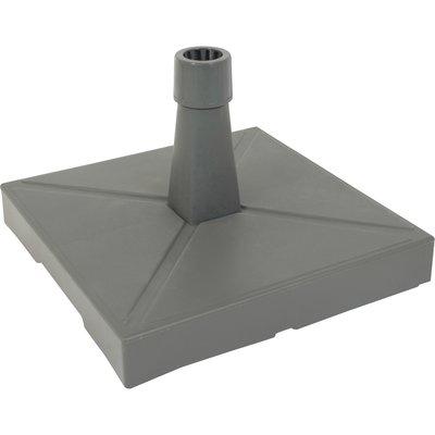 Parasolvoet kunststof/beton antraciet 20kg