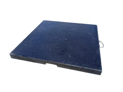Granietplaat Polish 90kg zwart