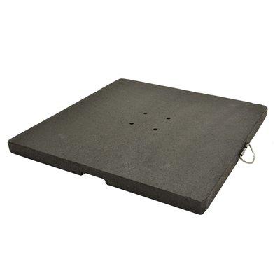Granietplaat 90kg zwart
