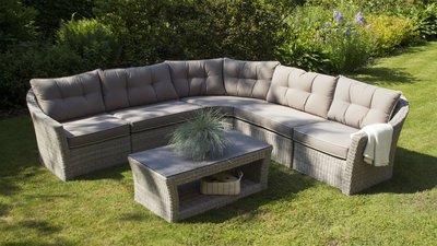 Lounge-hoekbank Aura