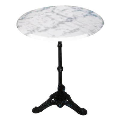 Tafel marmer wit 60cm