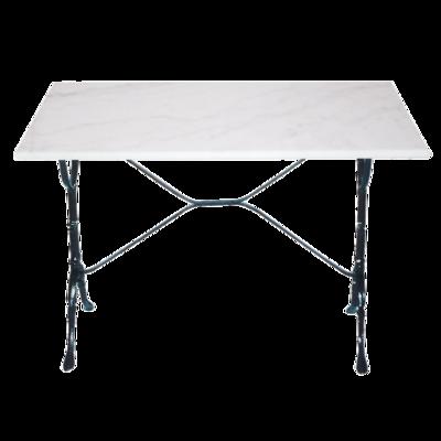 Tafel marmer wit 100x60cm