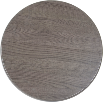 Tafelblad Isotop Plus Outdoor Ø60cm dark oak