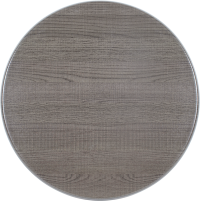 Tafelblad Isotop Plus Outdoor Ø70cm dark oak