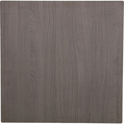 Tafelblad IsotopPlus Sliq Outdoor 80x80cm dark oak