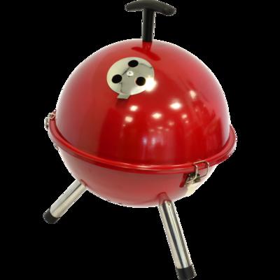 Barbecue tafelmodel kogel, Ø32cm rood