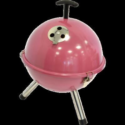 Barbecue tafelmodel kogel, Ø32cm soft pink