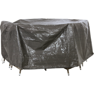 Beschermhoes grijs zitgroep 250cm