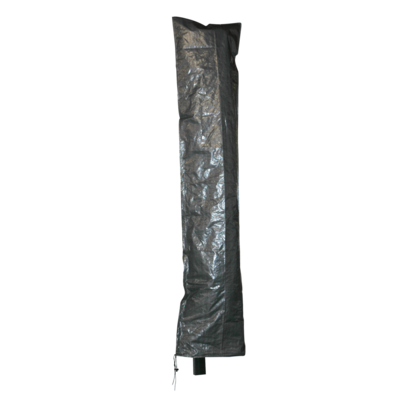 Beschermhoes grijs zweefparasol, rits Ø3,5m/3x3m