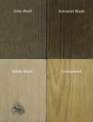 Steigerhouten salontafel 60x60cm wit