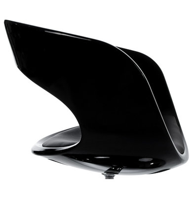 Design Stoel KIRK Zwart-Zwart