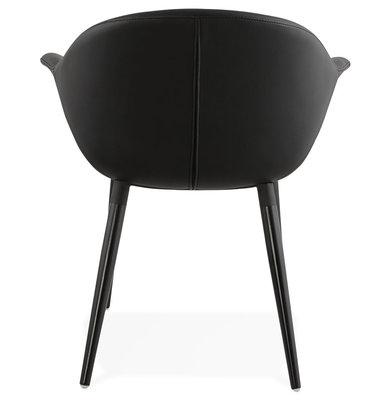 Design Stoel MELROSE Zwart