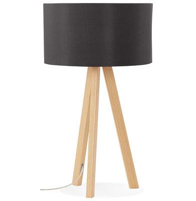 Tafellamp TRIVET Zwart
