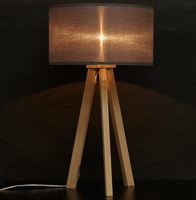 Tafellamp TRIVET Grijs