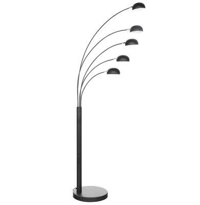 Vloerlamp BUSH Zwart