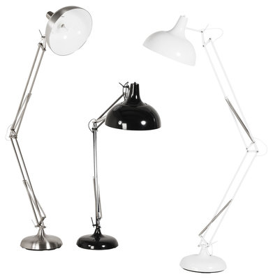 Vloerlamp PIX Silver