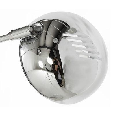 Vloerlamp BUSH Chroom