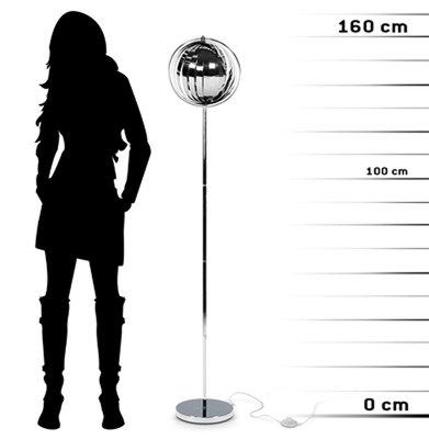 Vloerlamp NINA BIG Chroom