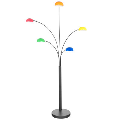 Vloerlamp BUSH Zwart Mix kleur