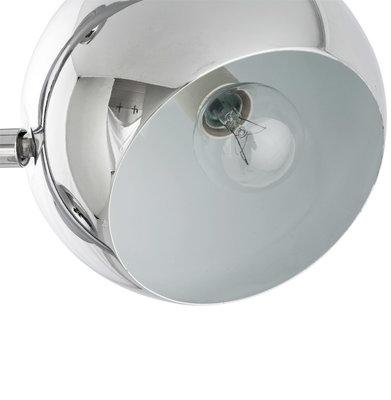 Vloerlamp GLOBUS Chroom