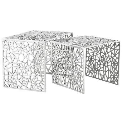 Bijzettafel BIKO Aluminium