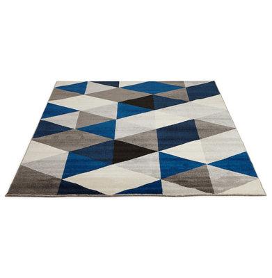 Vloerkleed MUOTO 160x230 cm Blauw