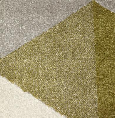 Vloerkleed MUOTO 160x230 cm Groen