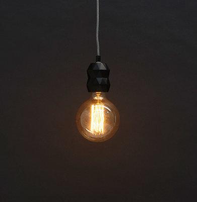 Hanglamp ATUPA Zwart