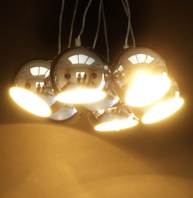Hanglamp EKLEKTIK Chroom