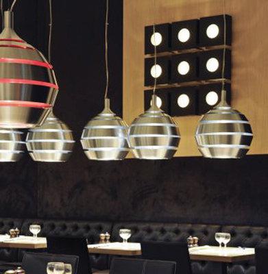 Hanglamp HALLEY Rood