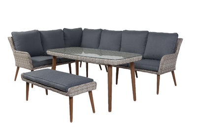 Columbia High Dining Cornerset