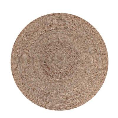 LABEL51 - Vloerkleed Jute 180x180 cm L