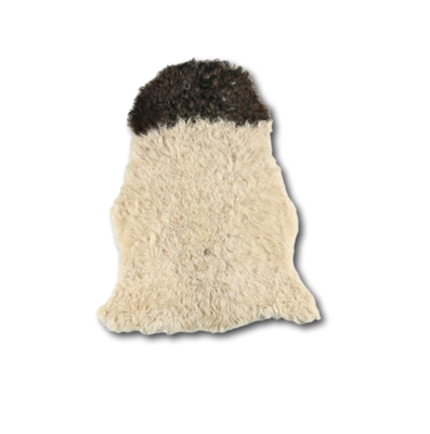 Curly Sheepskin Black Heads