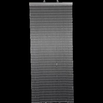 Deurgordijn PVC Tube grijs 100x230cm