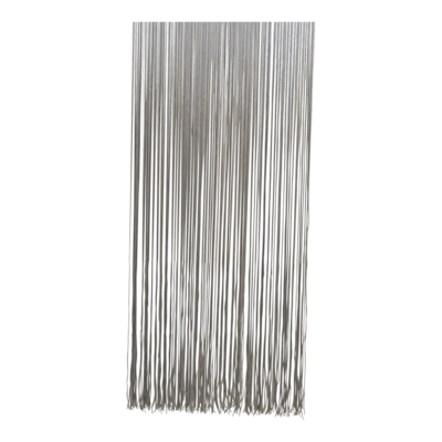 Deurgordijn PVC Spaghetti grijs 100x230cm